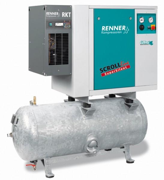 RENNER SCROLL-Kompressor SLDK-S 2,2 mit 250 Liter Druckluftbehälter
